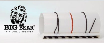 The Big Bear™ Aluminum Trim Coil Dispenser - Professional Engineering Company